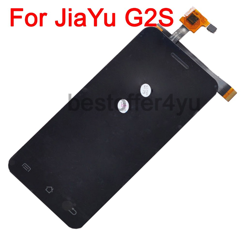 100% original jiayu G2S Touch Screen + LCD Display Assemble Replacement For JIAYU G2S Touch Pane mobile phones + TRACKING code(China (Mainland))