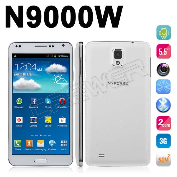 M Horse Note 3 Free Shipping M-HORSE N9000W