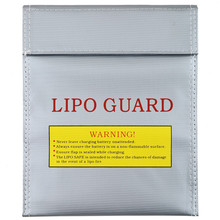 1Pc Fireproof RC LiPo Battery Safety Bag Safe Guard Charge Sack 180 X230 mm Hot Selling(China (Mainland))
