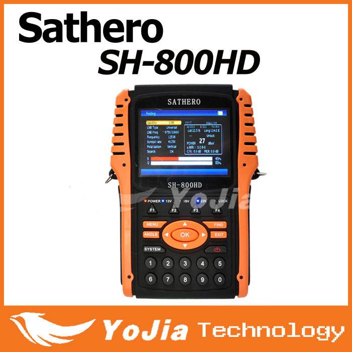 [Genuine] Sathero SH-800HD DVB-S2 Digital Satellite Finder Meter SH-800 USB2.0 HDMI Output Sat finder HD with Spectrum Analyzer(China (Mainland))