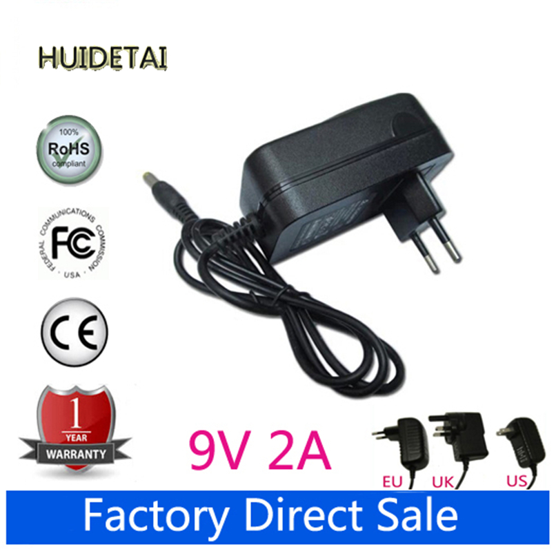 9V 2A AC DC Power Supply Adapter Wall Charger For MID WM8650 ANDROID TABLET LA-915 LA915(China (Mainland))