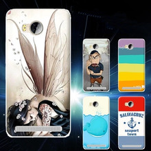 New Arrival Colored Drawing TPU Gel Soft Painted Case Cover For Huawei Y3 II(China (Mainland))