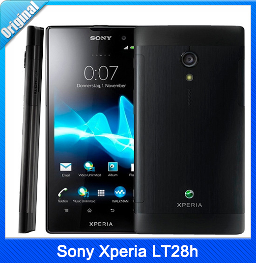 original unlocked Sony Xperia ion HSPA LT28h 13.2GB storage GPS WiFi mobile phone in stock free shipping(China (Mainland))