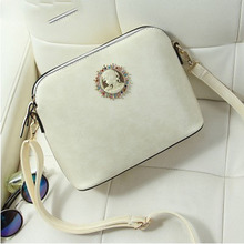 SHELL Badge Head Portrait PU LEATHER 2016 Fashion Designer Brand High Quality Women Handbag Tote Shoulder