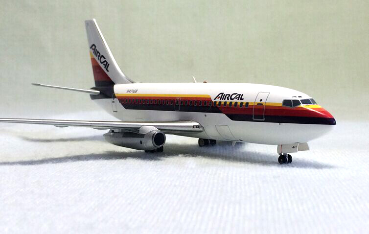 Inflight 200 1: 200 Boeing 737--159 alloy aircraft model N471GB Limited Collector Model