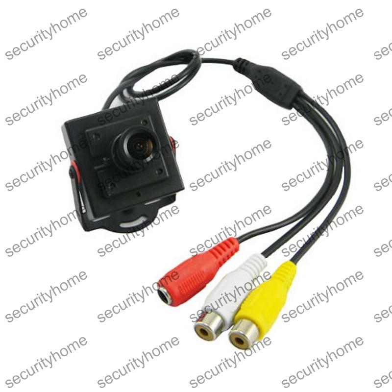 Wide Angle HD CMOS 1200TVL 2.8mm MTV Lens A/V Surveillance CCTV Camera with MIC