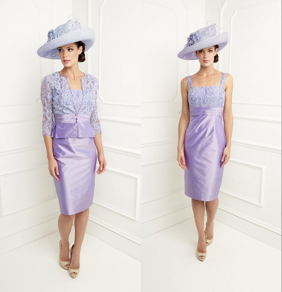 Lilac Mother Of The Bride Dresses