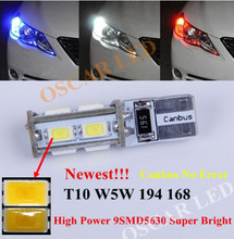 1  x T10 W5W 194 168 No Error Clearance Parking Front Side Light  LED For Mercedes Benz C250 C300 E350 E550 ML550 R320 R350 2x(China (Mainland))