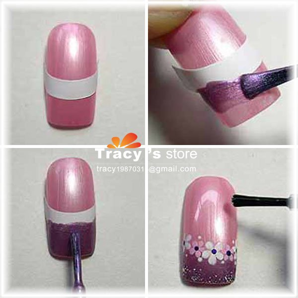 Nail art guide stickers nail art ideas french nail stickers kamos sticker prinsesfo Choice Image