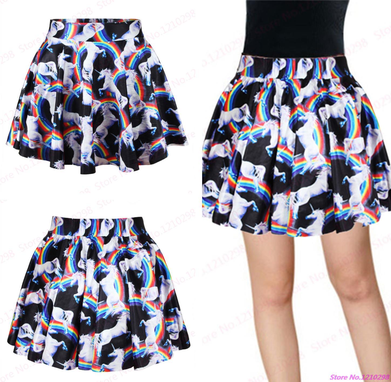 New Unicorn Tennis Skirts Women Elegance Women Pleated Skirts Summer Miniskirt Pettiskirt Gym Fitness Mini Skirts