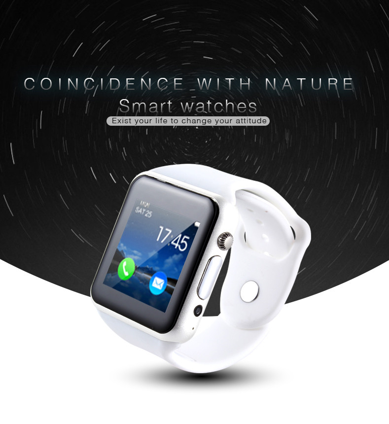 2016 Hot-sell Camera Smart Watch- for Android phones,Bluetooth, Music Play, Widely used while doing sports(China (Mainland))