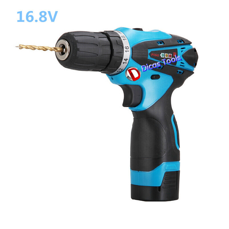 product 6.8v li-ion battery rechargeable drill multi-functional household electric screwdriver drill