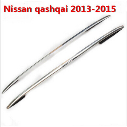 HOT Sale! High Quality Aluminum alloy SUV Car 2 pcs Roof Rack OEM Style Roof Racks Fit For Nissan Qashqai 2013 2014 2015(China (Mainland))