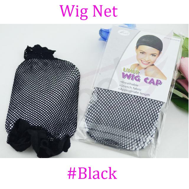 1 шт. # черный невидимые растянуть эластичную ажурные / сетку для волос / парики ...