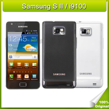 Refurbished Original Samsung Galaxy S2 / I9100 Smartphone 4.3 Inches Touchscreen 8MP Android Cellphone 16GB ROM