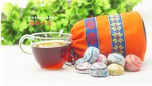 50 PCS Chinese yunnan puer tea 10 Kinds flavors puer ripe pu er tea raw puerh