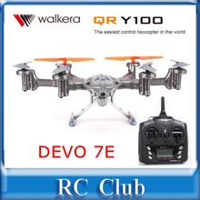 Walkera QR Y100 DEVO 7E  FPV Hexacopter Drone Helicopter with Camera  DEVO 7E Transmitter RTF