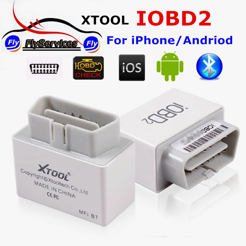 XTOOL IOBD2 Bluetooth OBD2 EOBD Auto Scanner Trouble Code Reader For IOS & Android Vehicle Diagnostic Tool By Bluetooth(China (Mainland))