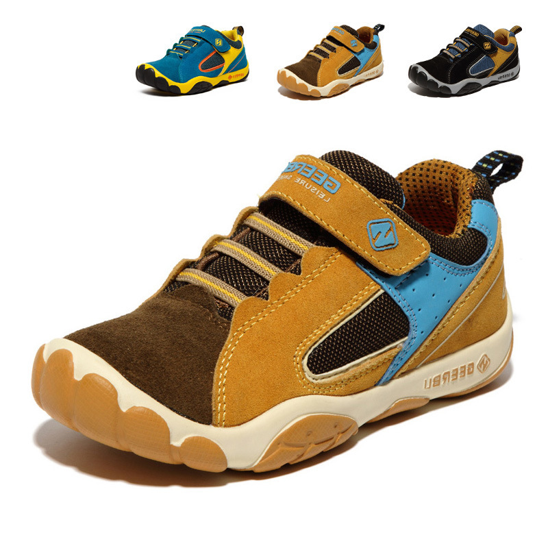 2015 Children Shoes Breathable Girls Boys Shoes New Brand Kids Leather Sneakers Child Running Shoes Casual Sneakers(China (Mainland))