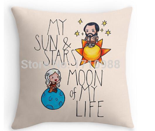 Daenerys & Khal Drogo Pillowcase