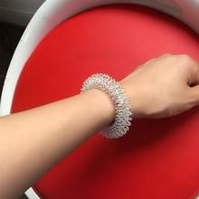 1 pcs Acupressure Increase Blood Flow Circulation Wrist Hand Massager Bracelet Massage Health Care Tools