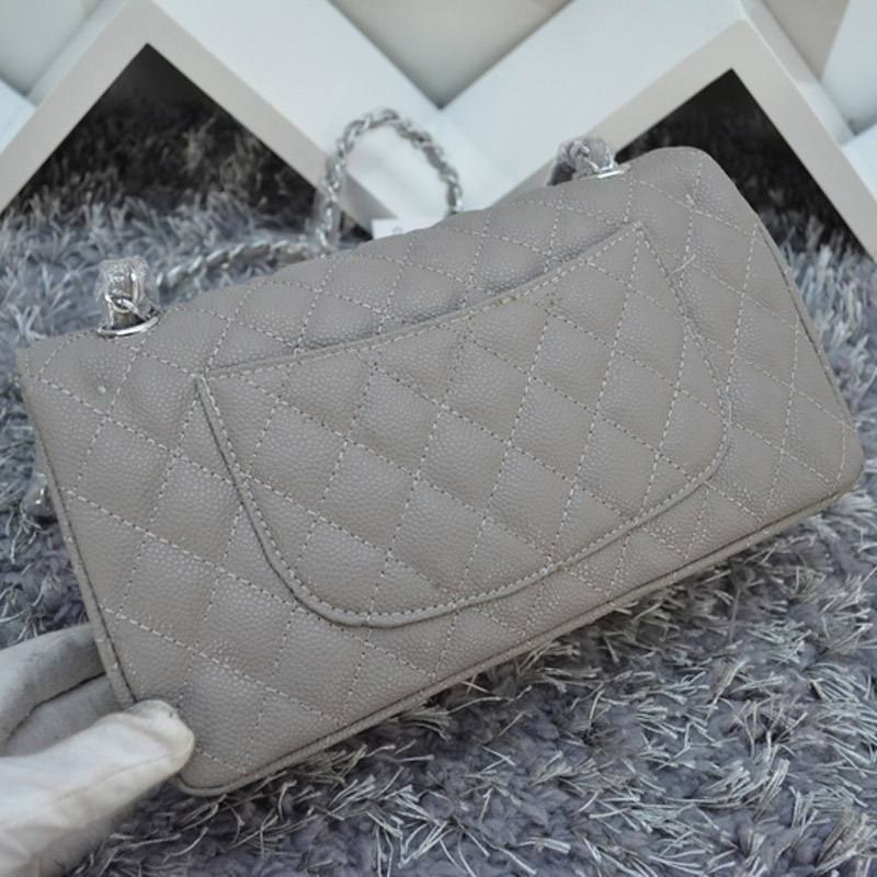2015 Brand Classical Quilted Chain Caviar Leather Shoulder Bag Women Cowhide Double Flap Bag 1112 and 1113 Squared Embroidery<br><br>Aliexpress