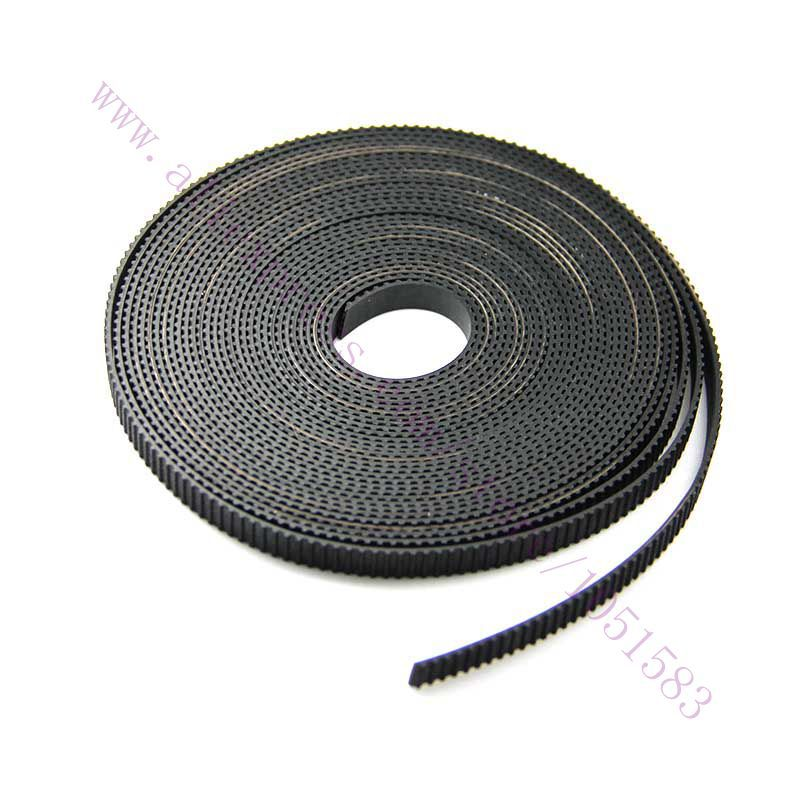 10 meters Black MXL Rubber Imported Open Timing Belt 6mm Width for 3D Printer CNC, Engraving / plotter/ engraving/ laser machine(China (Mainland))