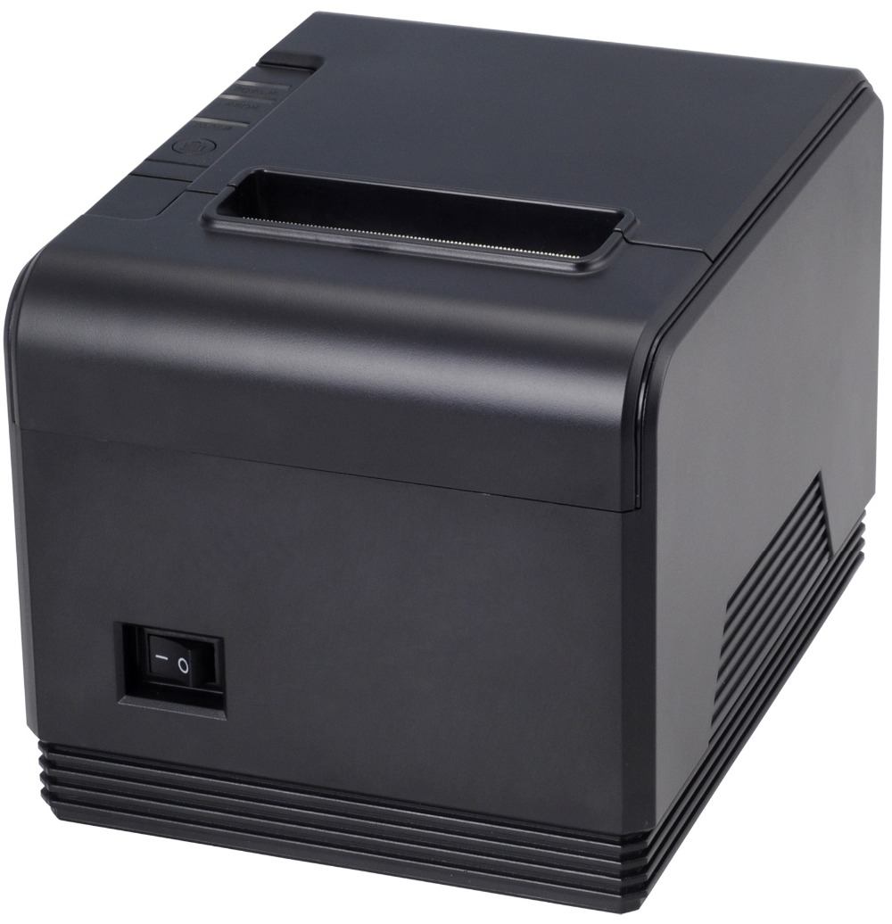 80mm Thermal Receipt Printer LAN port Auto-cutter Support barcode and multilingual print POS terminal XP-Q200(China (Mainland))