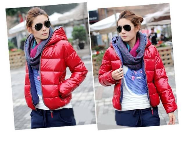 С чем носить спортивную красную куртку