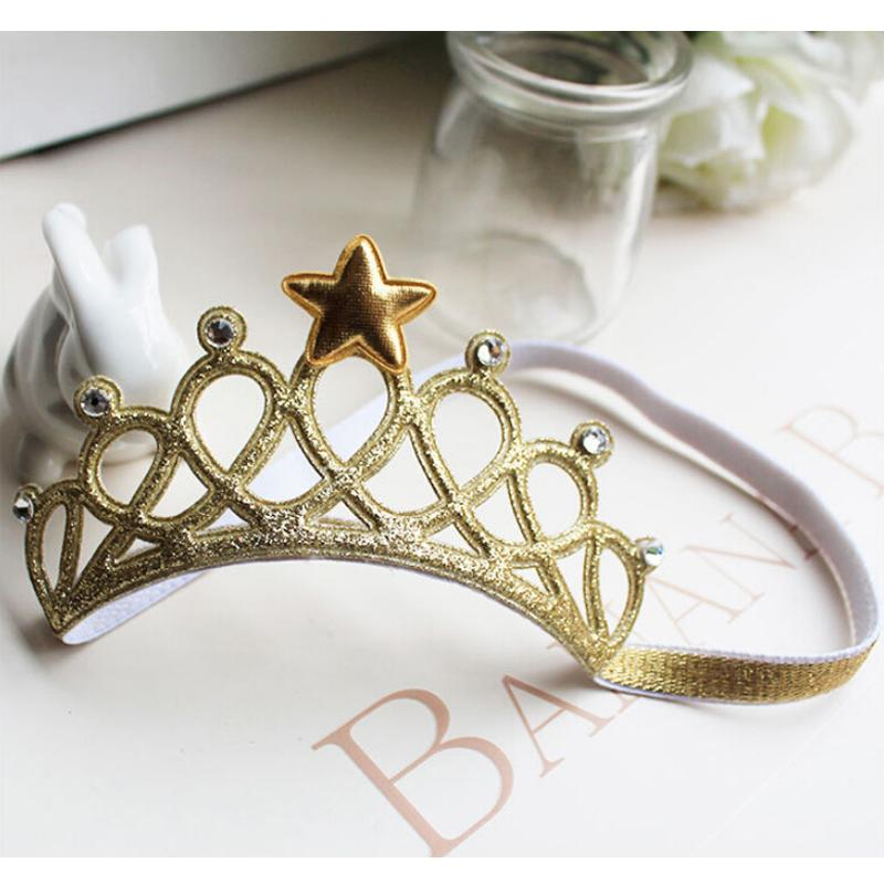 Baby Kids Girl Infant Hair Accessory Tiaras Princess Crown Headband Hairband
