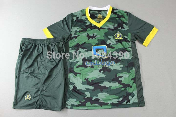15/16 New Camouflage soccer jersey short sleeve football uniform men's designer tracksuit sports kits(China (Mainland))