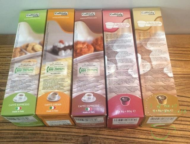 Гаджет  80g 1pack.10bag/pack.4kinds Caffitaly capsule coffee from Italy.Use ecaff coffee machine.Free shiping None Еда