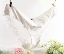 Women Lace Sexy Panties Ultra Thin Transparent Flower Embroidered Patterned Plus Size Underwear Seamless Briefs 6Colors