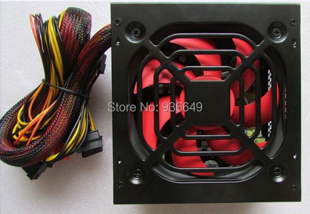 500w super silent power computer power supply desktop power supply mainframe power supply atx(China (Mainland))