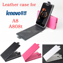 Magnetic Closure PU Leather Flip Case Cover for Lenovo A8 A808t Smartphone Lenovo Leather Phone Cases For Lenovo A808t Covers