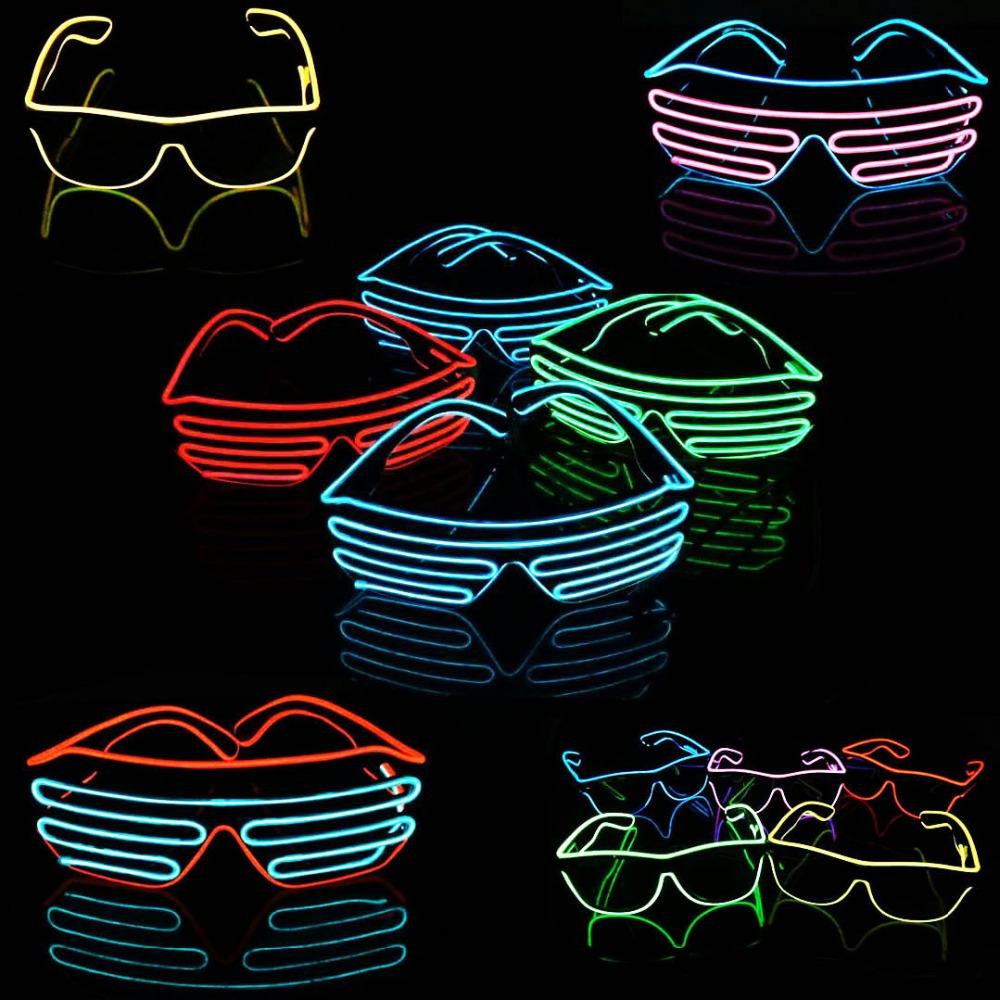 online kaufen gro handel led beleuchtete sonnenbrillen aus china led beleuchtete sonnenbrillen. Black Bedroom Furniture Sets. Home Design Ideas