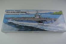 Buy 30CM Warship CVN-70 USS CARL VINSON Aircraft Carrier Plastic Assembly Model Electric Toy XC80905 for $18.60 in AliExpress store