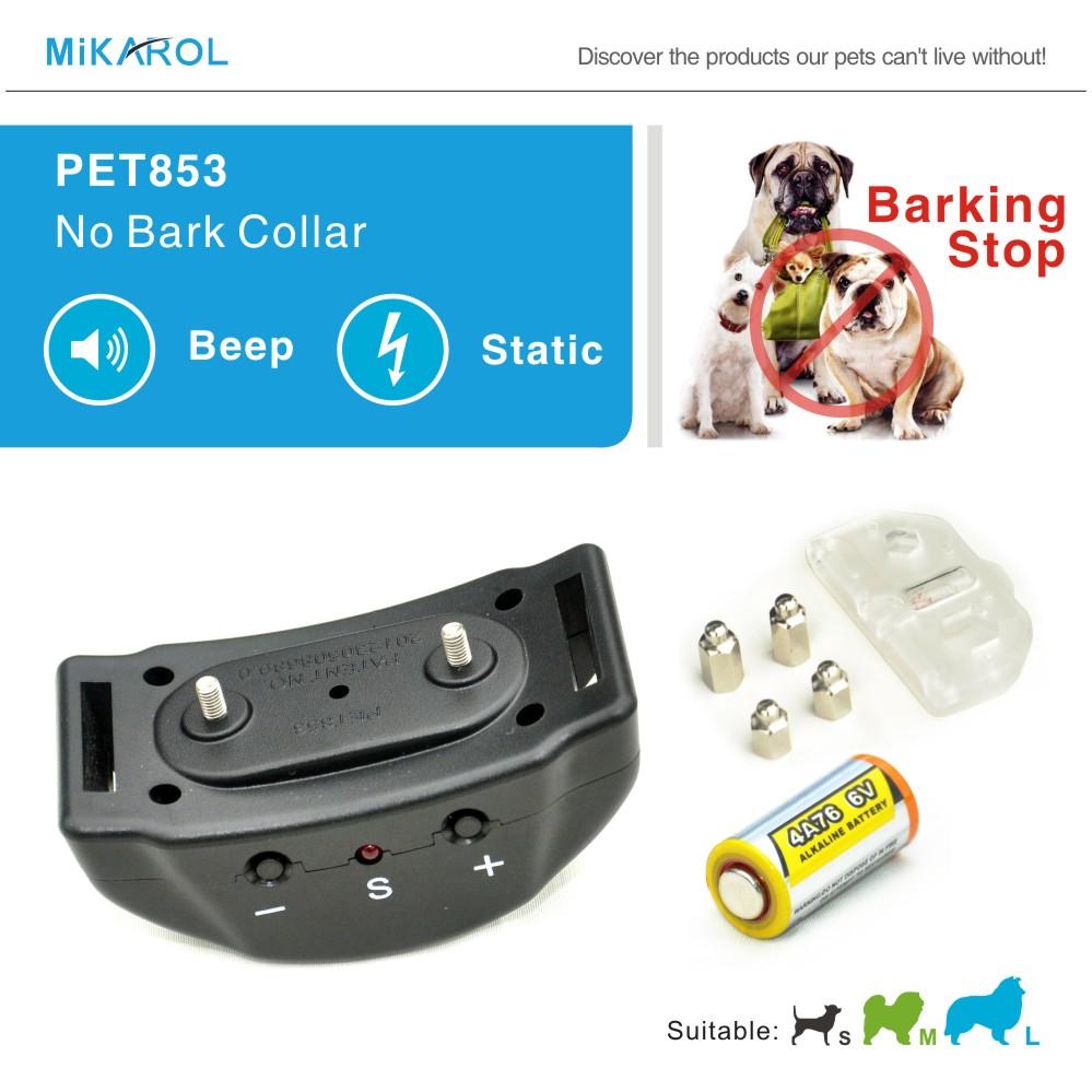 Lowest Price Puppy Dog Control Pet Training Collar, 7 Levels Mini Bark Stop Collar Anti Bark Electronic Shock Dog Trainer Collar(China (Mainland))