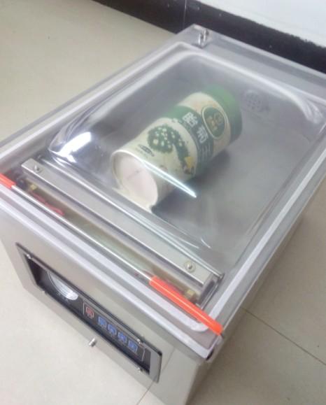 Stainless Steel Vacuum Food Sealers Table-Style food vacuum bag packing machine Desk-top vacuum packer machine(Hong Kong)