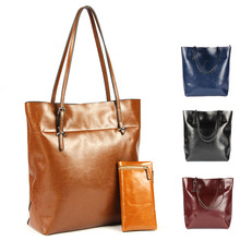 handbags 2015 Women shoulder bags high quality genuine leather bag famous brands women leather handbags bag ladies 4 color V8G53(China (Mainland))