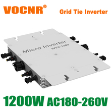 1200W MPPT On Grid Micro Inverter 22-50 DC to AC 180-260V Power Inverters Pure Sine Wave for 1200W 36V Solar Panels(China (Mainland))