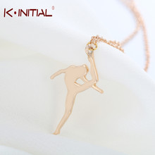 Buy Kinitial 30Pcs Gold Silver Bling Dance Girl Necklaces Ballet Dance Necklace Pendant Women Fashion Statement Necklaces Jewelry for $22.19 in AliExpress store