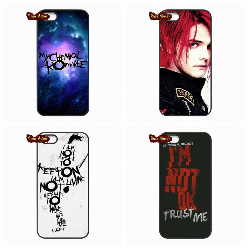 For Samsung Galaxy Note 3 4 iPod Touch 4 5 HTC M7 M8 iPhone 4 4S 5S 5 5C 6 6S Plus Gerard Way My Chemical Romance MCR Case Cover(China (Mainland))