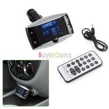 Car Kit MP3 Bluetooth Player FM Transmitter SD/MMC/USB US AS #2418 (China (Mainland))