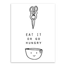 Black and White Inspiration Food Quotes Poster Print Nordic Kitchen Wall Art Pictures Minimalist Home Decoration Canvas Painting(China)