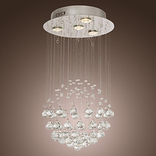 K9 Modern Crystal Chandelier Ceiling with 4 Lamps in Globe Shape, Lustres De Cristal,Lustre De crystal  Free Shipping(China (Mainland))