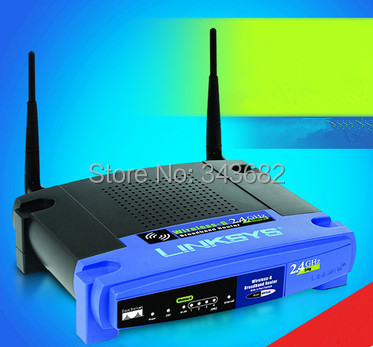 New Arrival Cisco-Linksys WRT54G 54 Mbps 4-Port 10/100 Wireless G Broadband Router Free Shipping(China (Mainland))