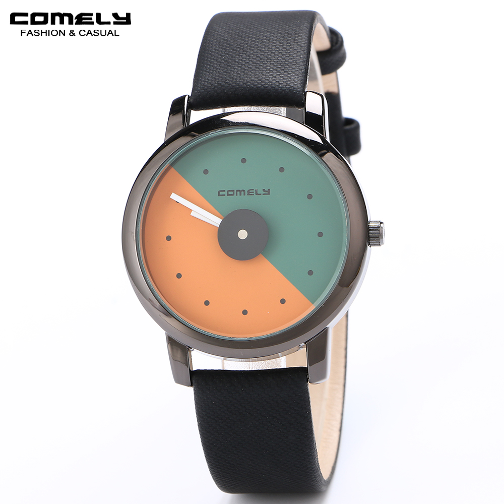comely women watches quartz watch montre femme black watch. Black Bedroom Furniture Sets. Home Design Ideas