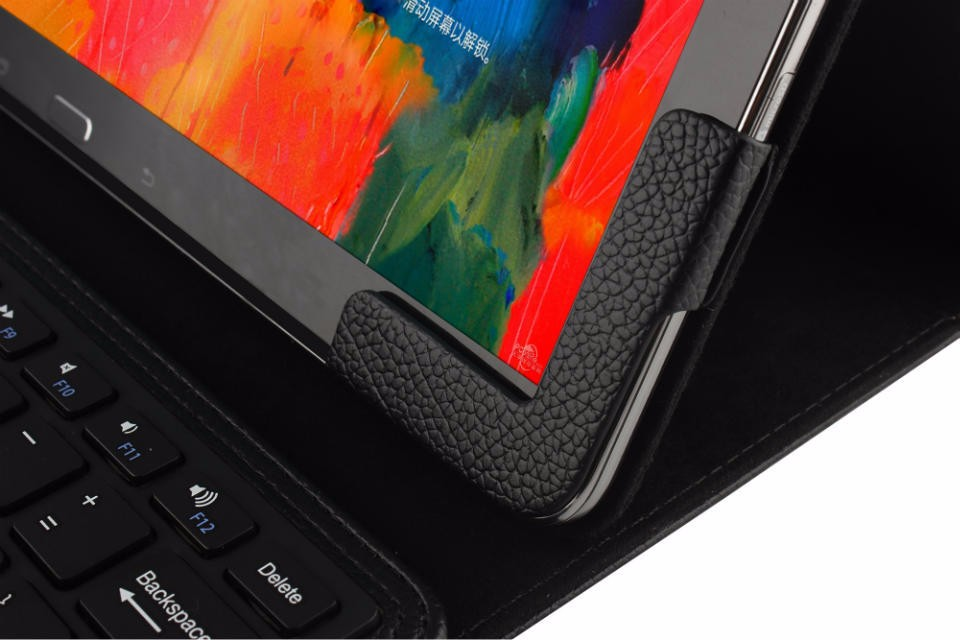 12.2inch  Bluetooth Keyboard Leather Protect Case Cover with Touchpad For Samsung Galaxy Note Pro P900 Microsoft Surface Pro 3 4