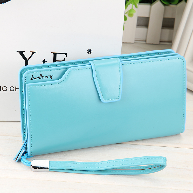 2015 New women wallets Casual wallet woman purse Clutch bag Brand leather wallet long design bag gift for lady 2015003<br><br>Aliexpress